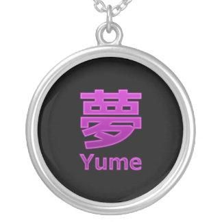 Sueño (Yume) Collar Plateado