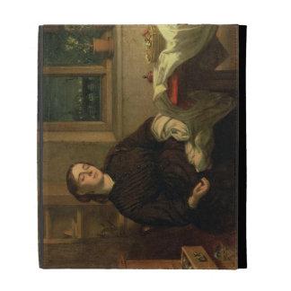 Sueños caseros, 1869 (aceite en la lona colocada e