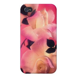 Sueños color de rosa iPhone 4/4S fundas
