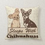 Sueños con las chihuahuas cojin