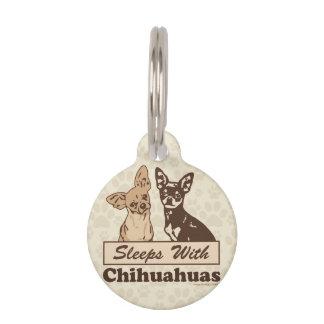 Sueños con las chihuahuas identificador para mascotas