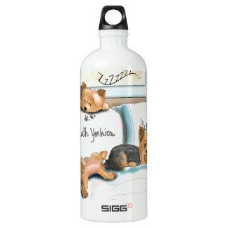Sueños con Yorkies de Catia Cho Botella De Agua