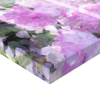 Sueños de la acuarela en lona envuelta violeta impresiones de lienzo