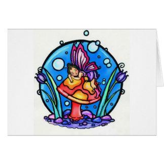 Sueños de la burbuja tarjeta de felicitación