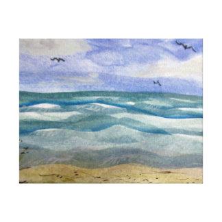 Sueños de la Costa del Golfo Impresión En Lienzo