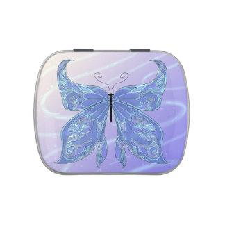 Sueños de la mariposa jarrones de dulces