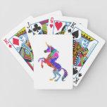 Sueños   de la naturaleza n del UNICORNIO Baraja Cartas De Poker