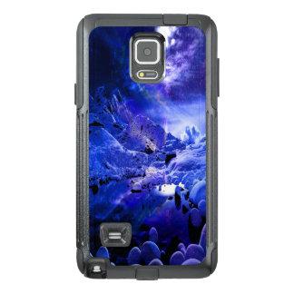 Sueños de la noche de Yule Funda OtterBox Para Samsung Note 4