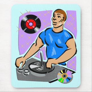 Sueños de la placa giratoria de DJ Tapetes De Ratones