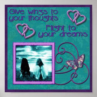 Sueños de los pensamientos n posters