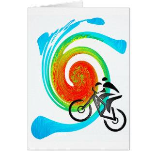 sueños de Utah de la bici Tarjeta