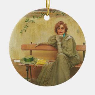 Sueños de Vittorio Matteo Corcos 1896 Ornamentos Para Reyes Magos