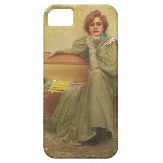 Sueños de Vittorio Matteo Corcos 1896 iPhone 5 Case-Mate Carcasa