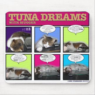 Sueños del atún con el asaltante mousepads