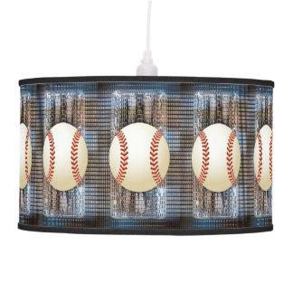 Sueños del béisbol lámpara de techo