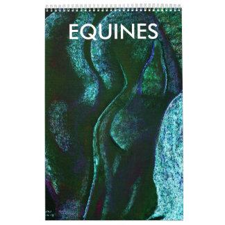 sueños del caballo, EQUINOS Calendarios