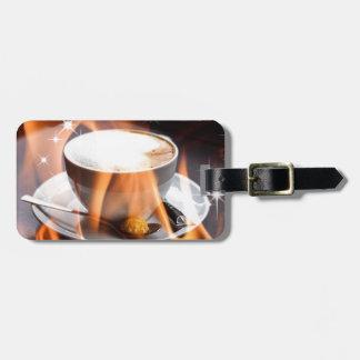 Sueños del Cappuccino Etiqueta De Equipaje