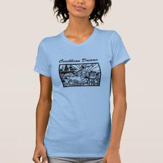 Sueños del Caribe con el barco pirata Camisetas