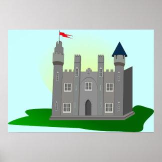 Sueños del castillo póster
