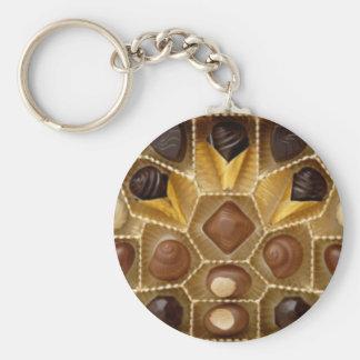 Sueños del chocolate llavero personalizado