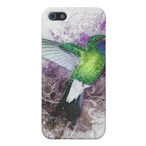 Sueños del colibrí iPhone 5 carcasas