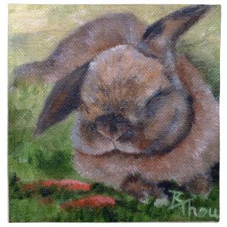 Sueños del conejito servilletas imprimidas