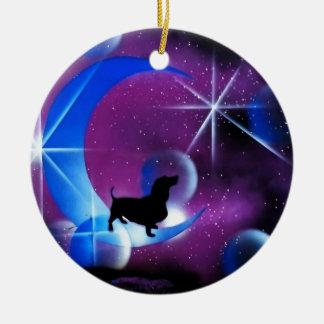 Sueños del Dachshund Ornamente De Reyes