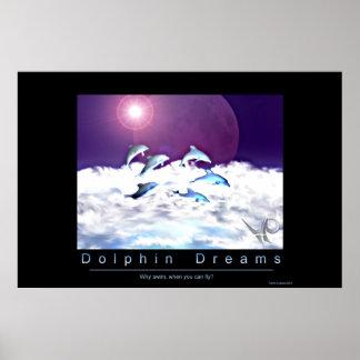 Sueños del delfín poster