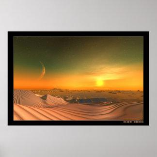 Sueños del desierto póster