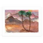 Sueños del desierto tarjetas postales