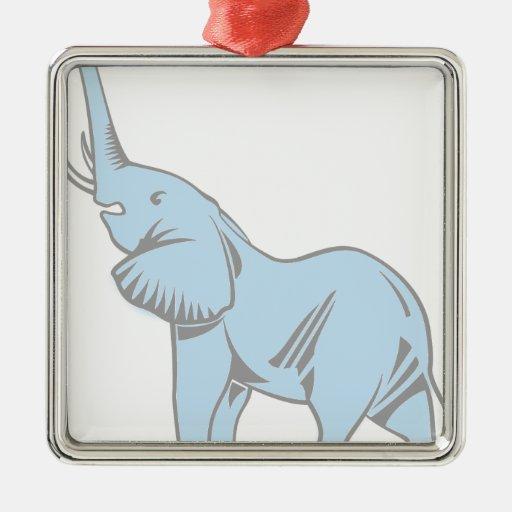 Sueños del elefante adornos de navidad