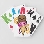 Sueños del helado baraja cartas de poker