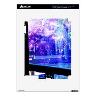Sueños del jardín de la serenidad iPad 3 pegatinas skins