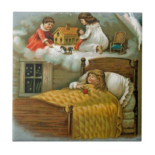 Sueños del navidad azulejos ceramicos