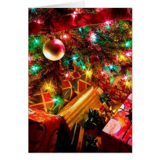 Sueños del navidad tarjeta