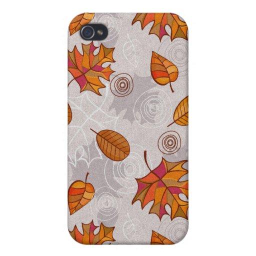 sueños del otoño iPhone 4 fundas