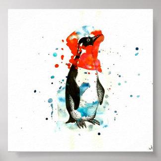Sueños del pingüino póster