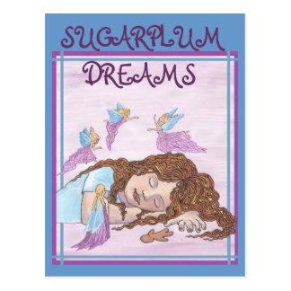 Sueños del Sugarplum Postales