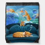 Sueños del Tabby del amante del gato Mochilas