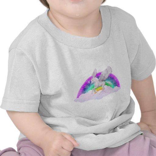 Sueños del unicornio camisetas