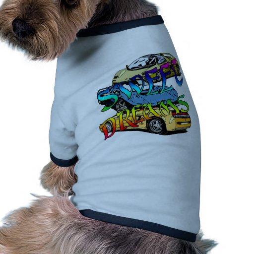 Sueños dulces camisetas de perro