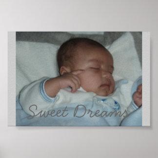 Sueños dulces el pequeño impresiones