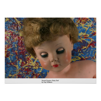 Sueños dulces, muñeca póster