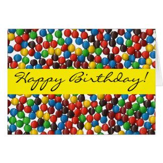 Sueños dulces - tarjeta de cumpleaños