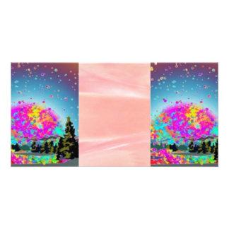 Sueños dulces tarjeta fotografica