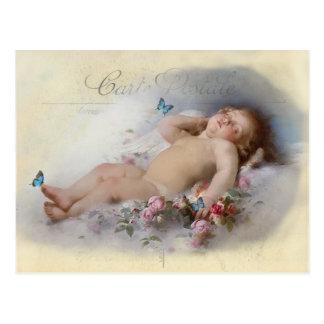 Sueños dulces tarjeta postal
