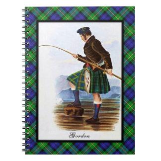 Sueños escoceses de la montaña de Gordon del clan Libreta