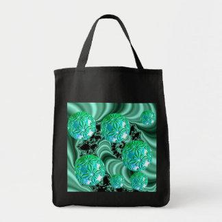 Sueños esmeralda del satén - trébol irlandés bolsa tela para la compra