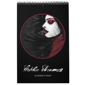 Sueños góticos calendarios