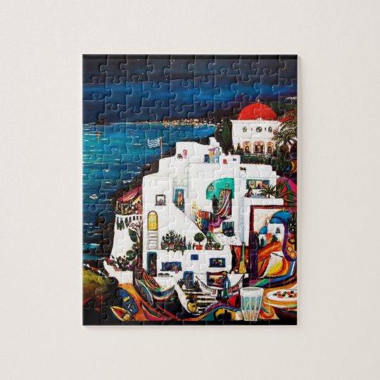Sueños griegos de la isla puzzle